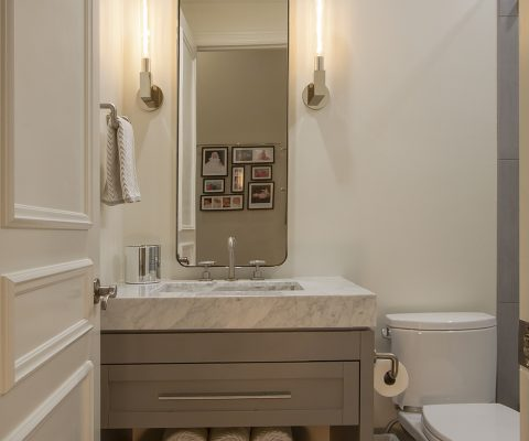 Brookwood Contemporary Powder Room