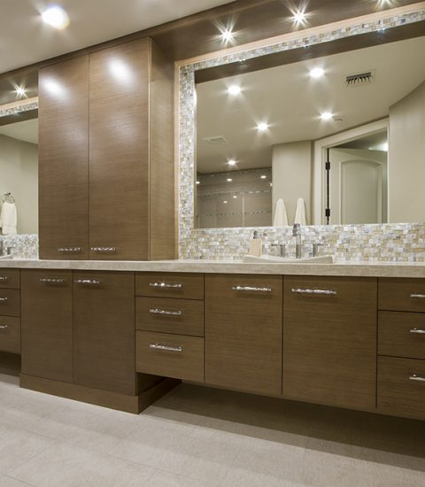 Highrise Condo Master and Guest Bathroom Remodels